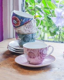 Pip Spring to Life Cappuccino Cup and Saucer