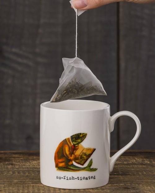 So-fish-ticated Mug