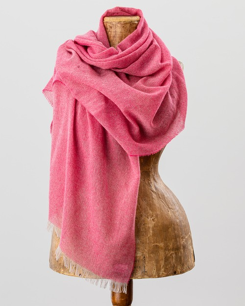 100% Cashmere Scarf in Pink