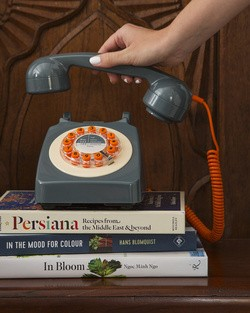 Retro Grey Telephone