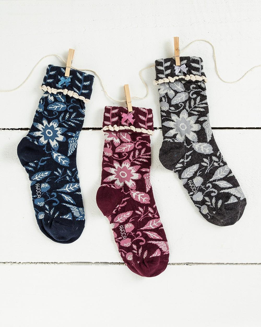 Tree of Life Ankle Socks