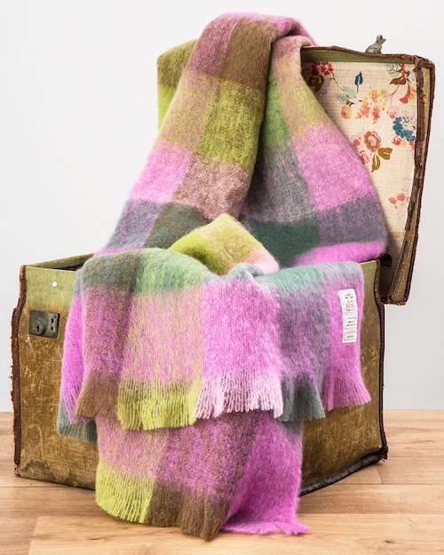 Wicklow Gap Mohair Throw