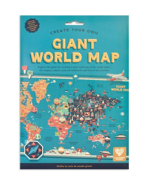 Create Your Own Giant World Map