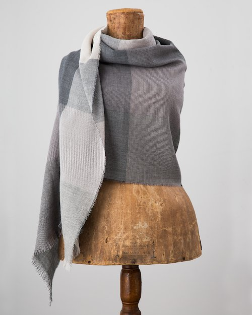 Greystone Worsted Wrap in Grey