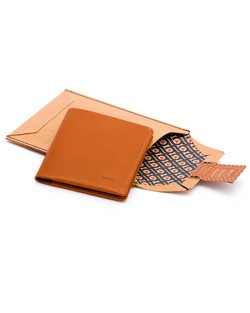Bellroy Slim Sleeve Wallet in Tamarillo Brown