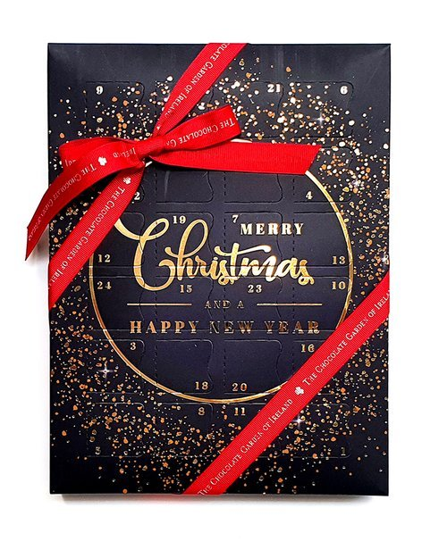 Handmade Luxury Chocolate Advent Calendar