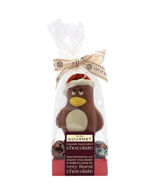 Chocolate Penguin & Christmas Puds