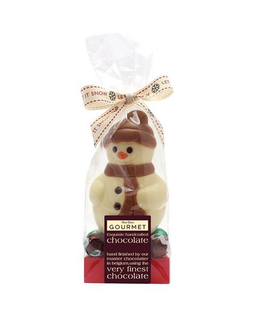 Chocolate Snowman & Christmas Puds