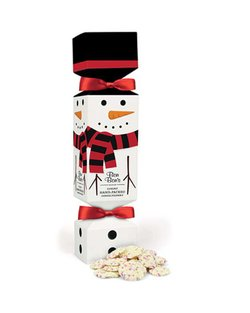 Snowman Cracker with Snowies