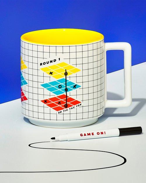 Tic Tac Toe Game Mug & Pen