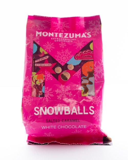 White Chocolate & Salted Caramel Snowballs