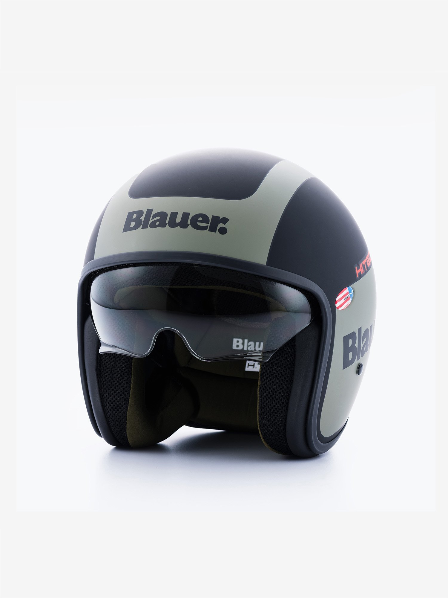 Blauer - PILOT 1.1 MATT DEUX TONS - Black Matt / Green In. Green - Blauer
