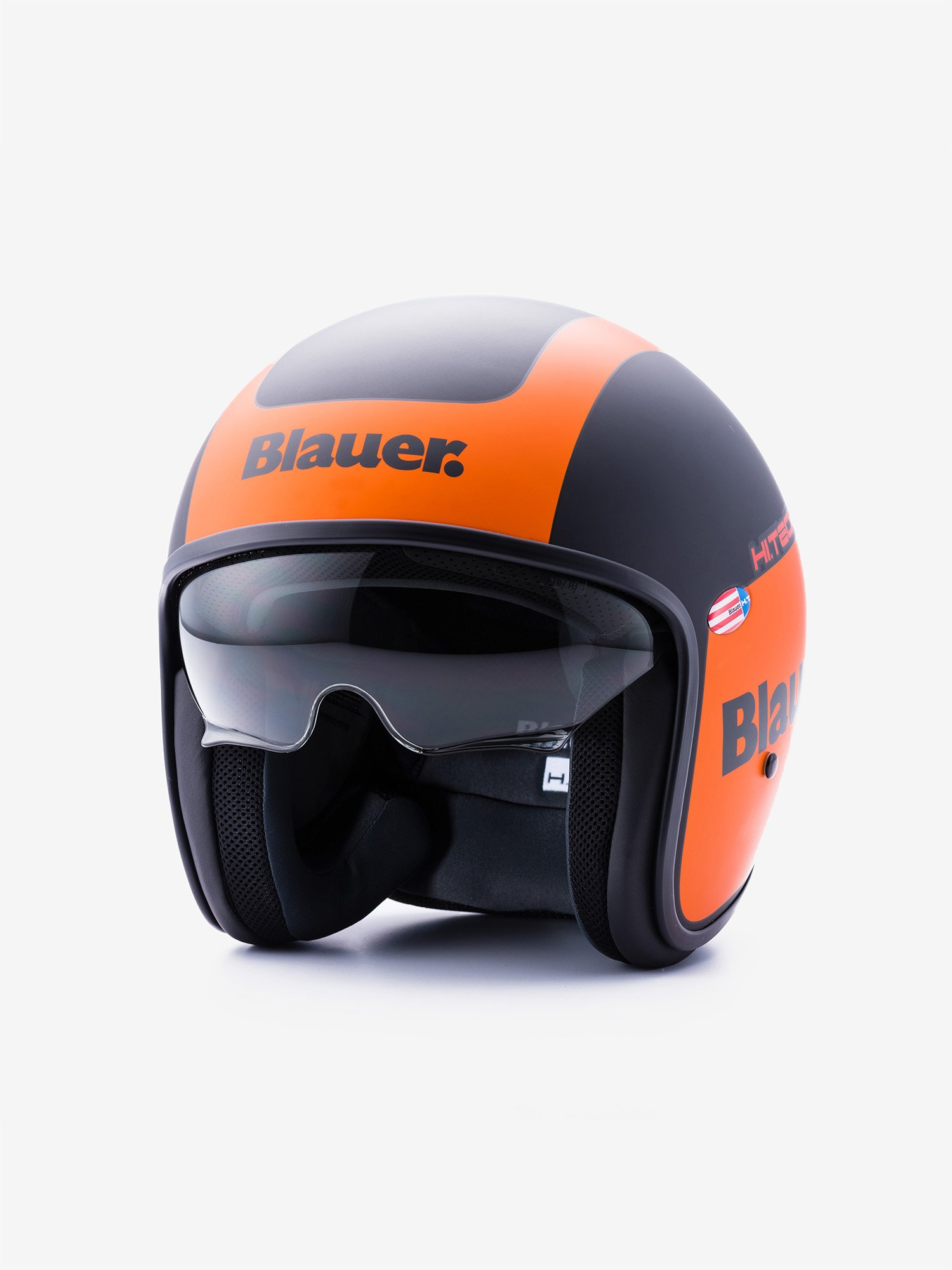 Blauer - PILOT 1.1 BICOLORE OPACO - Black / Orange Matt - Blauer
