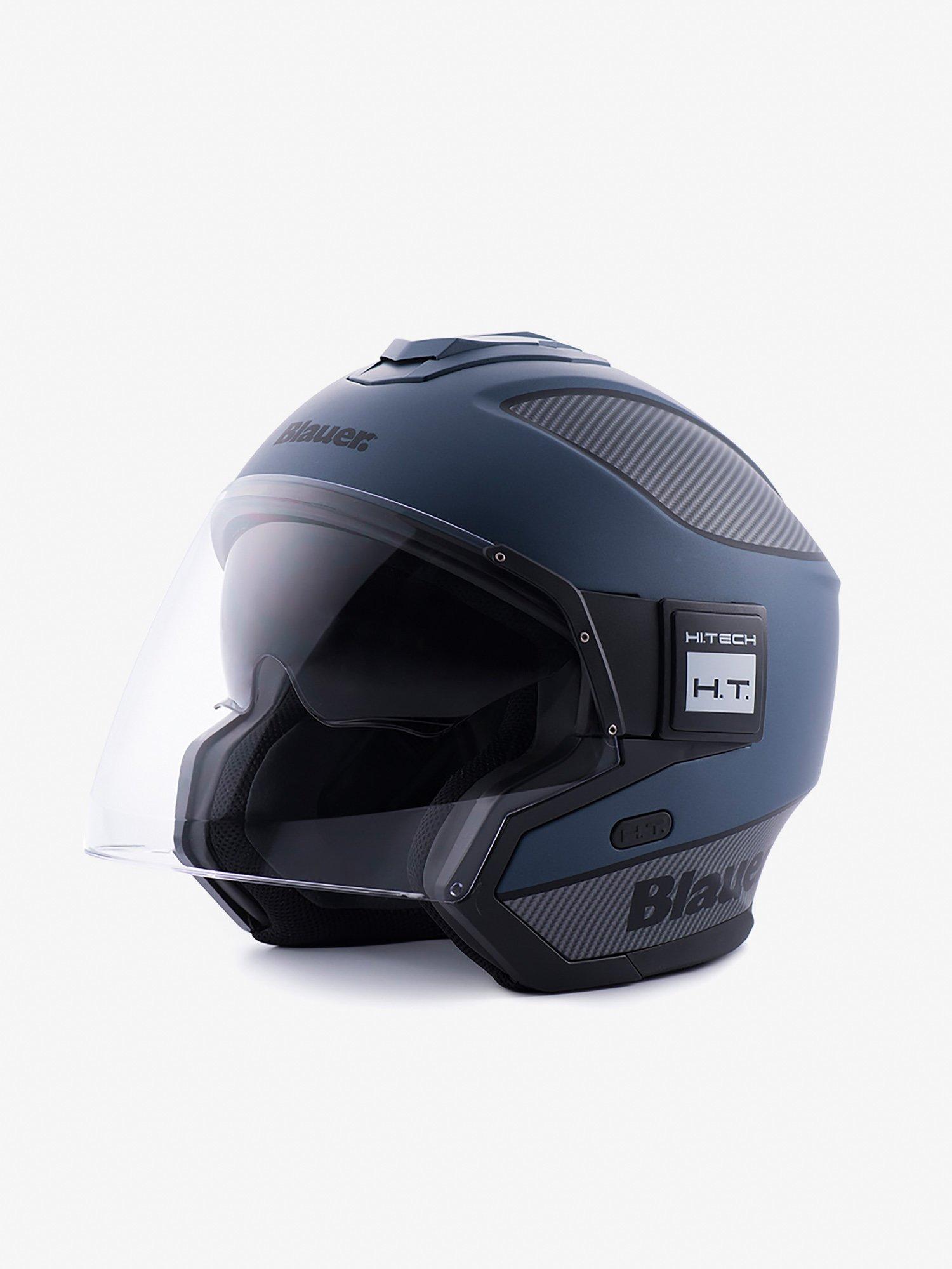 Blauer - JET SOLO HELMET - Blue / Carbon / Black Matt - Blauer