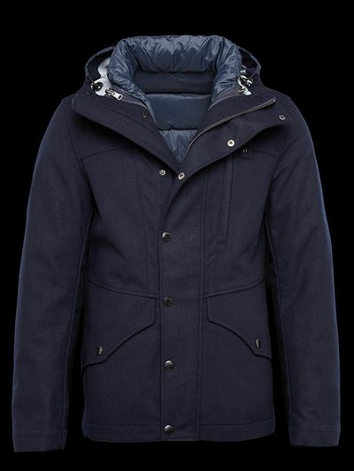 TECHNICAL WOOL JACKET