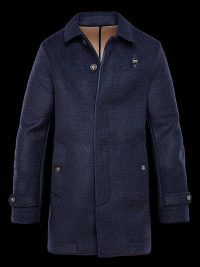 WINTER WOOL TRENCH COAT