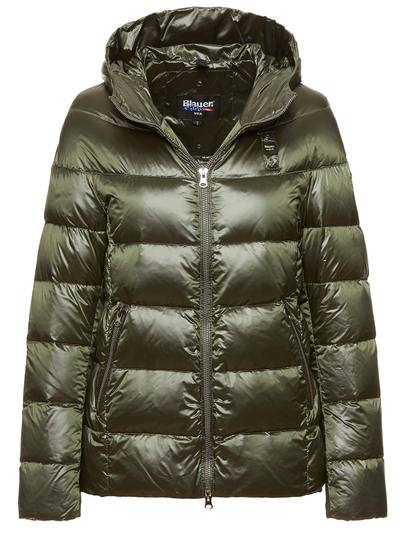 LONG DOWN JACKET WITH HOOD ELLA