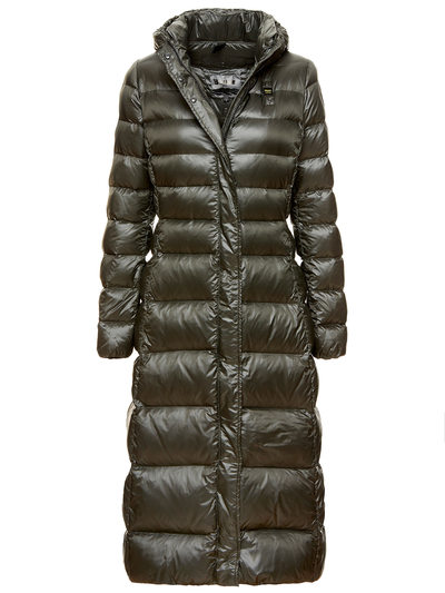 LONG DOWN JACKET WITH HOOD RILEY