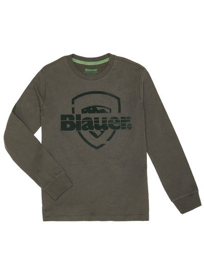BOY'S BLAUER SHIELD T-SHIRT