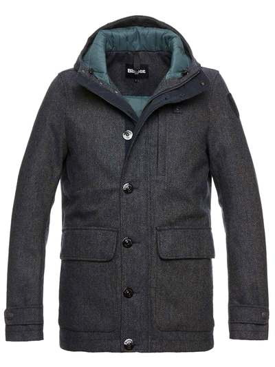 LINCOLN WOOL MONTGOMERY JACKET