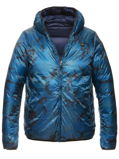 MEN'S REVERSIBLE DOWN JACKET IN GOOSE DOWN