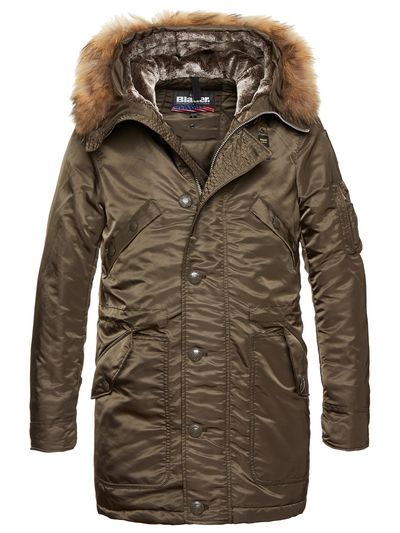 MEN'S LONG PARKA IN COTTON PADDING OWEN