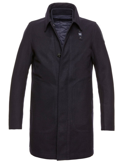 WOOL COAT WITH REMOVABLE LINING NOLAN