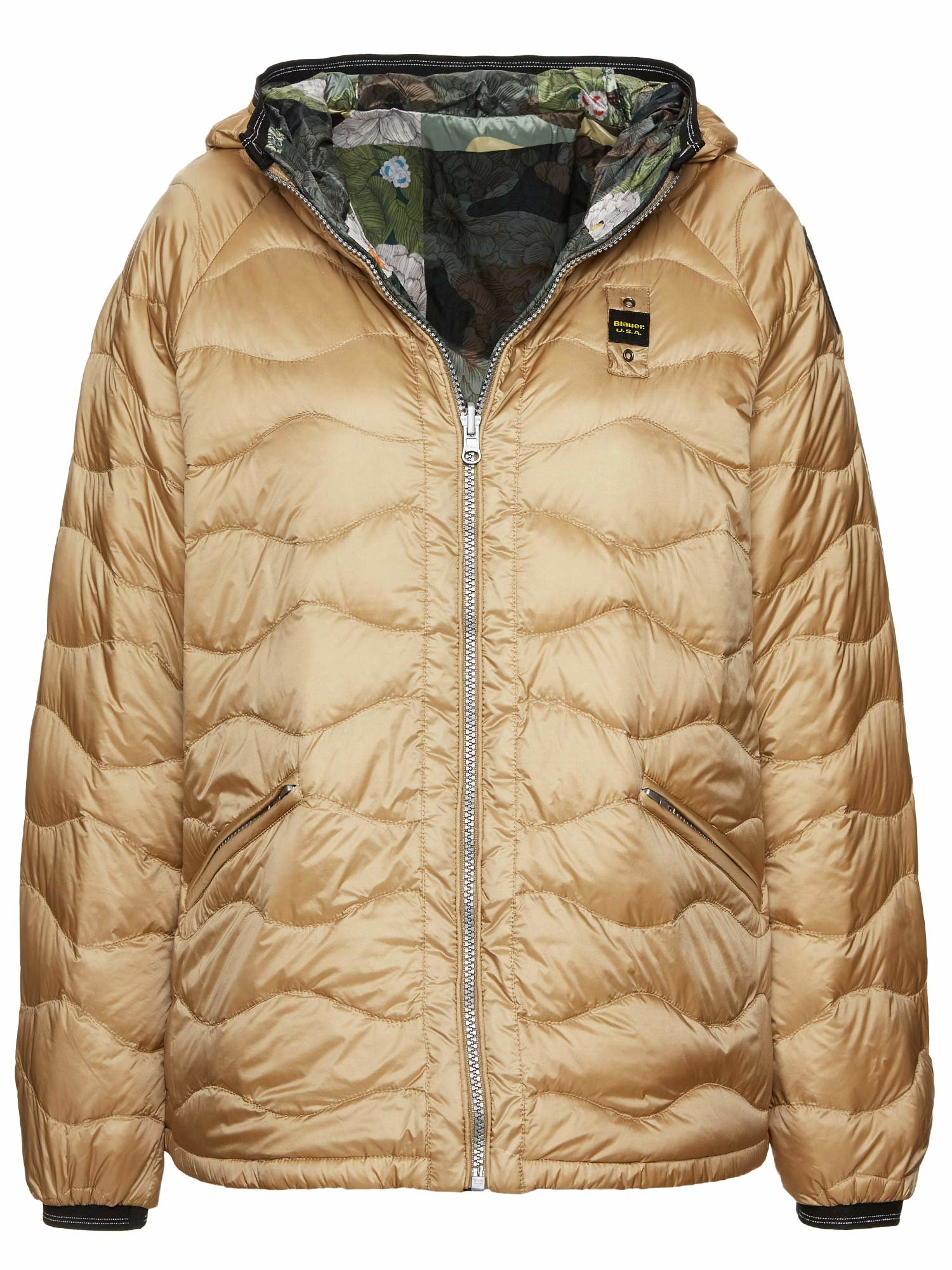 CHLOE REVERSIBLE HOODED DOWN JACKET 100 GR - Blauer