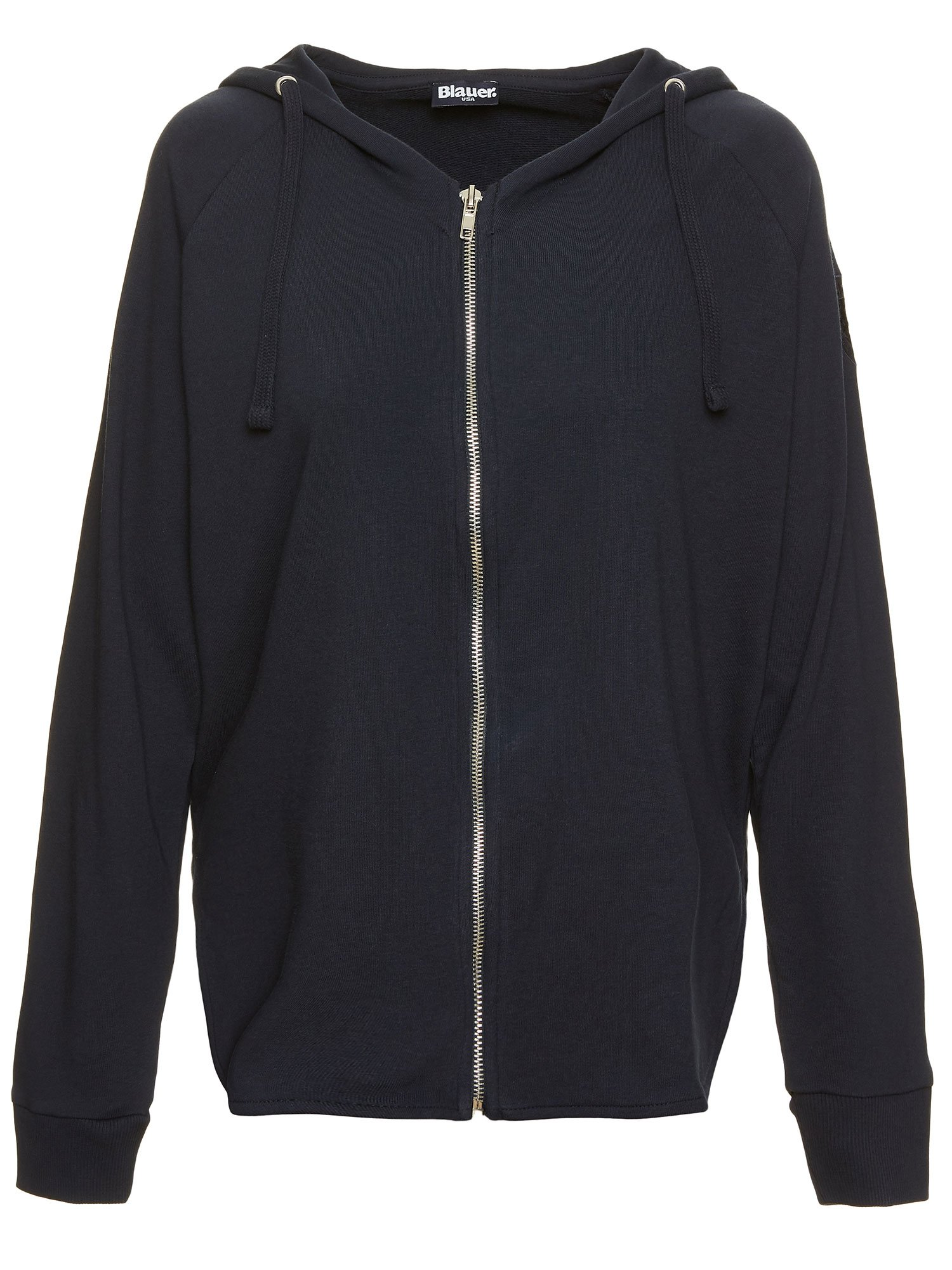 Blauer - MELANGE-SWEATSHIRT MIT KAPUZE - Dark Night Blue - Blauer