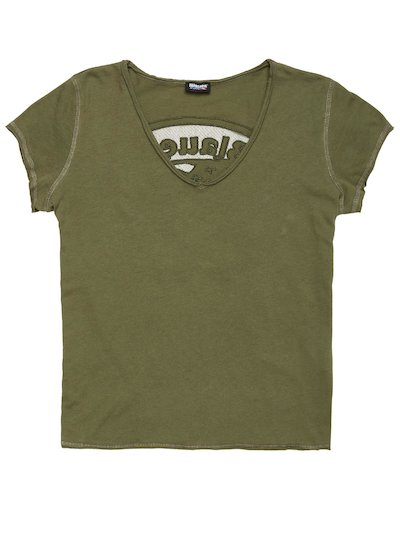 PERFORATED SHIELD T-SHIRT