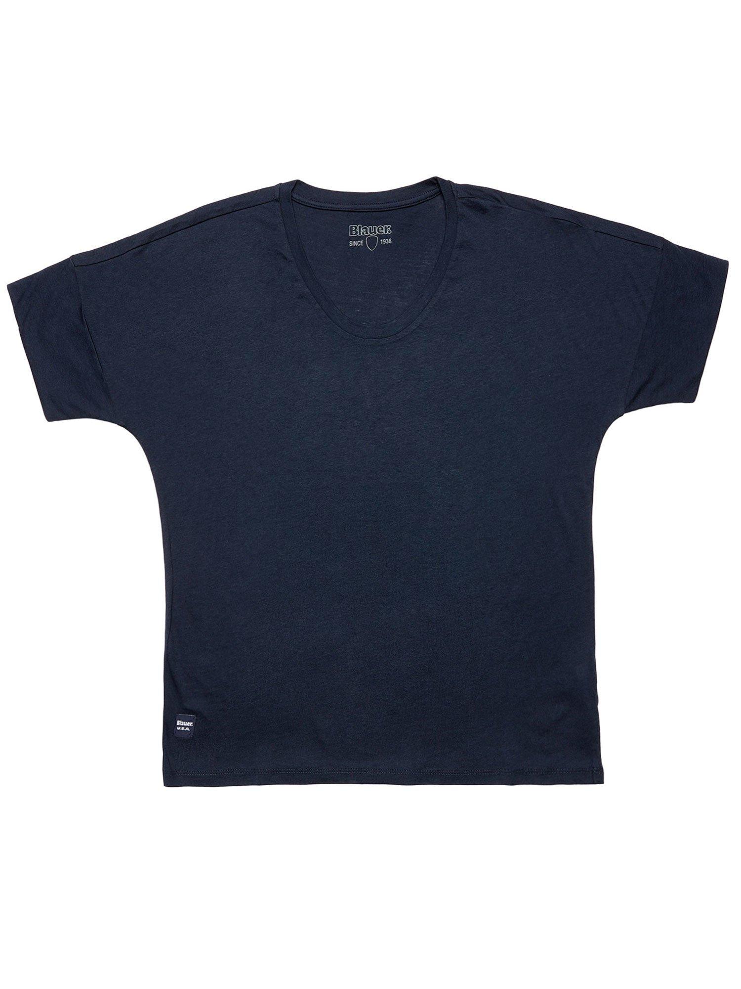 Blauer - BLAUER SINCE 1936 T-SHIRT - Dark Night Blue - Blauer