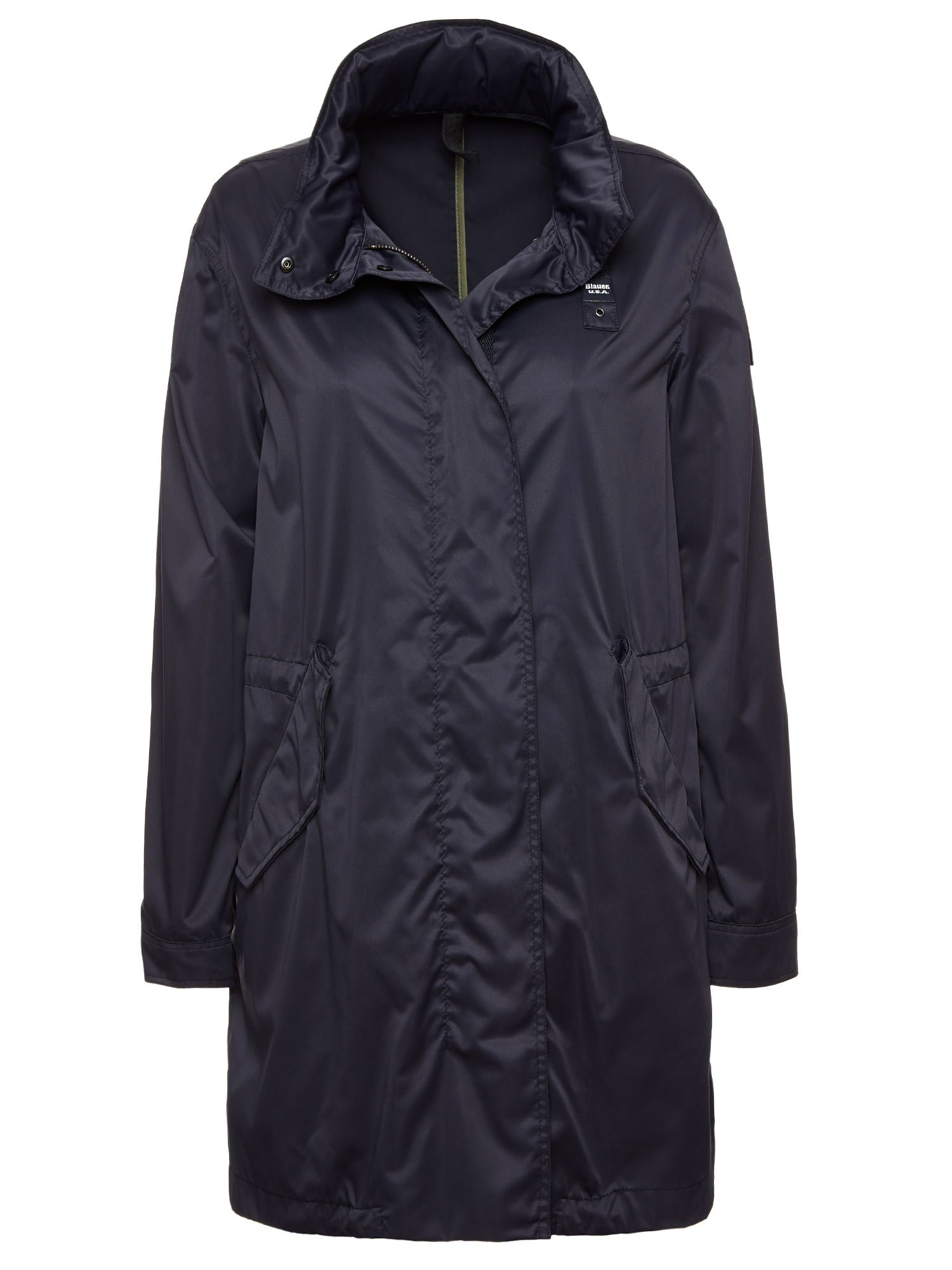 Blauer - AUDREY UNLINED TRENCH - Dark Night Blue - Blauer
