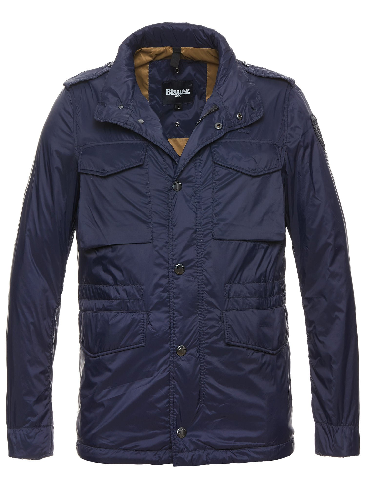 Blauer - ETHAN PADDED FIELD JACKET - Dark Night Blue - Blauer
