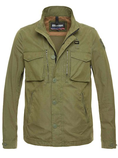 JOHN COTTON POPLIN OVERSHIRT