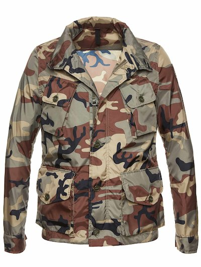 ISAAC CAMOUFLAGE FIELD JACKET