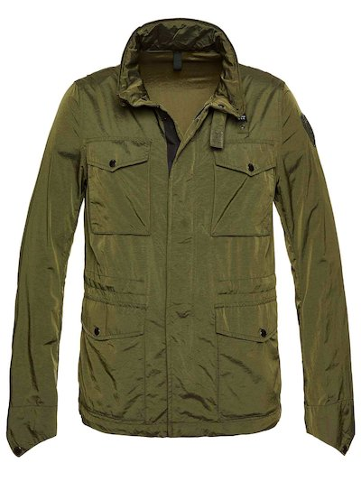 FIELD JACKET NAILON IRISADO MATTHEW