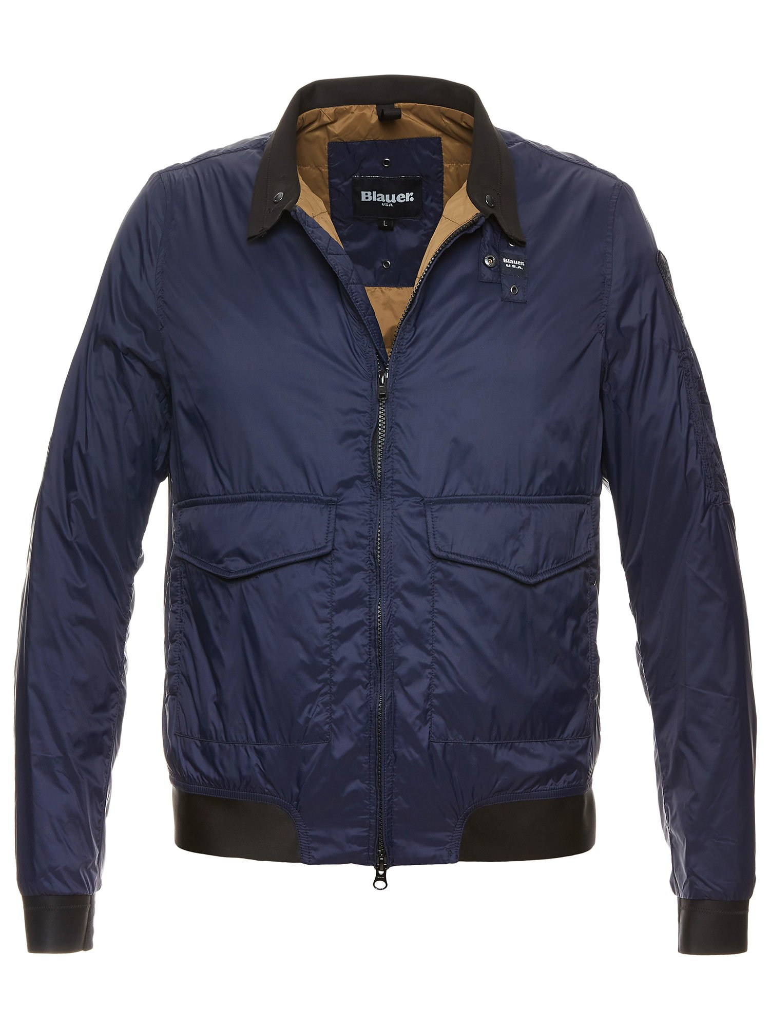 AIDEN PADDED BOMBER JACKET - Blauer