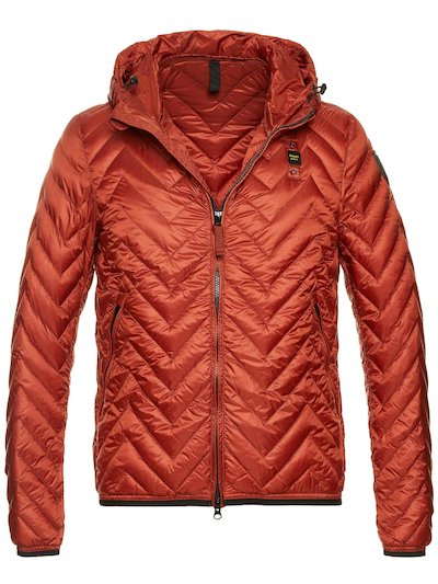 ADRIAN MEN'S ZIG ZAG DOWN JACKET