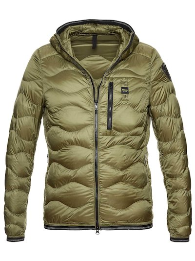 JAXSON HOODED WAVE DOWN JACKET