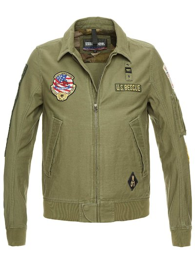 LUKE UNLINED MILITARY BOMBER