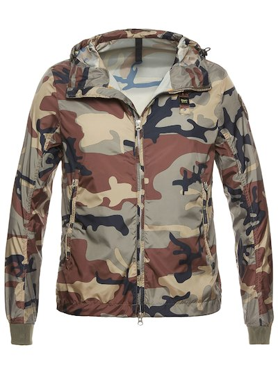 CHRIS LIGHTWEIGHT CAMOUFLAGE JACKET