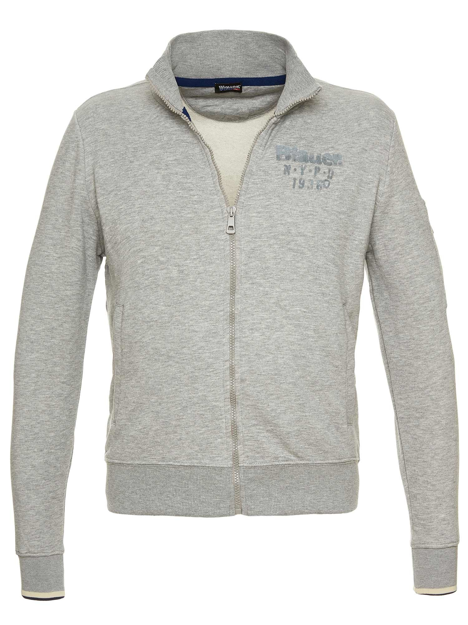 Blauer - FELPA N.Y.P.D. - Light Grey - Blauer