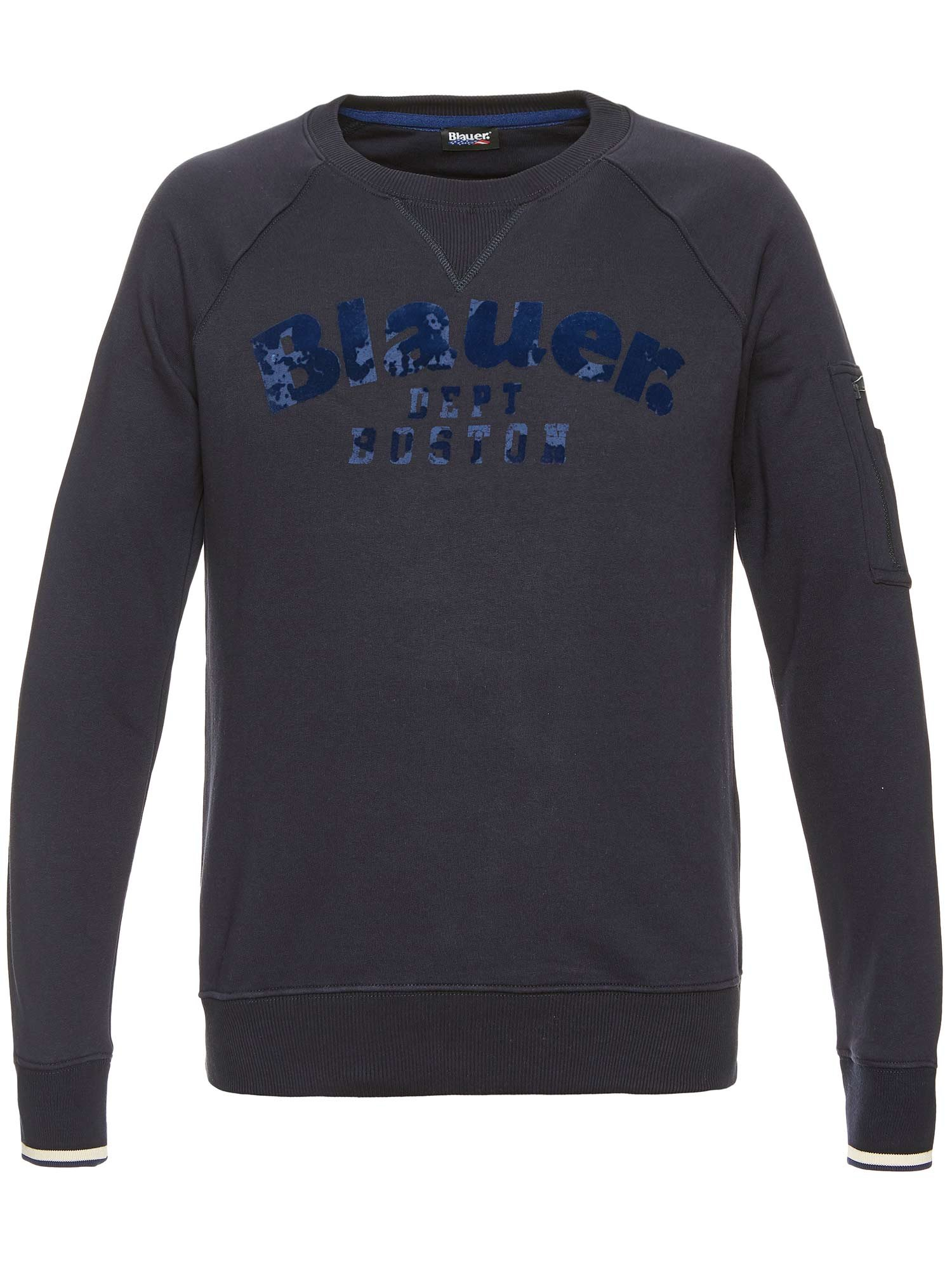 Blauer - RUNDHALS-SWEATSHIRT DEPT BOSTON - Dark Night Blue - Blauer 6e2b38bea5fe