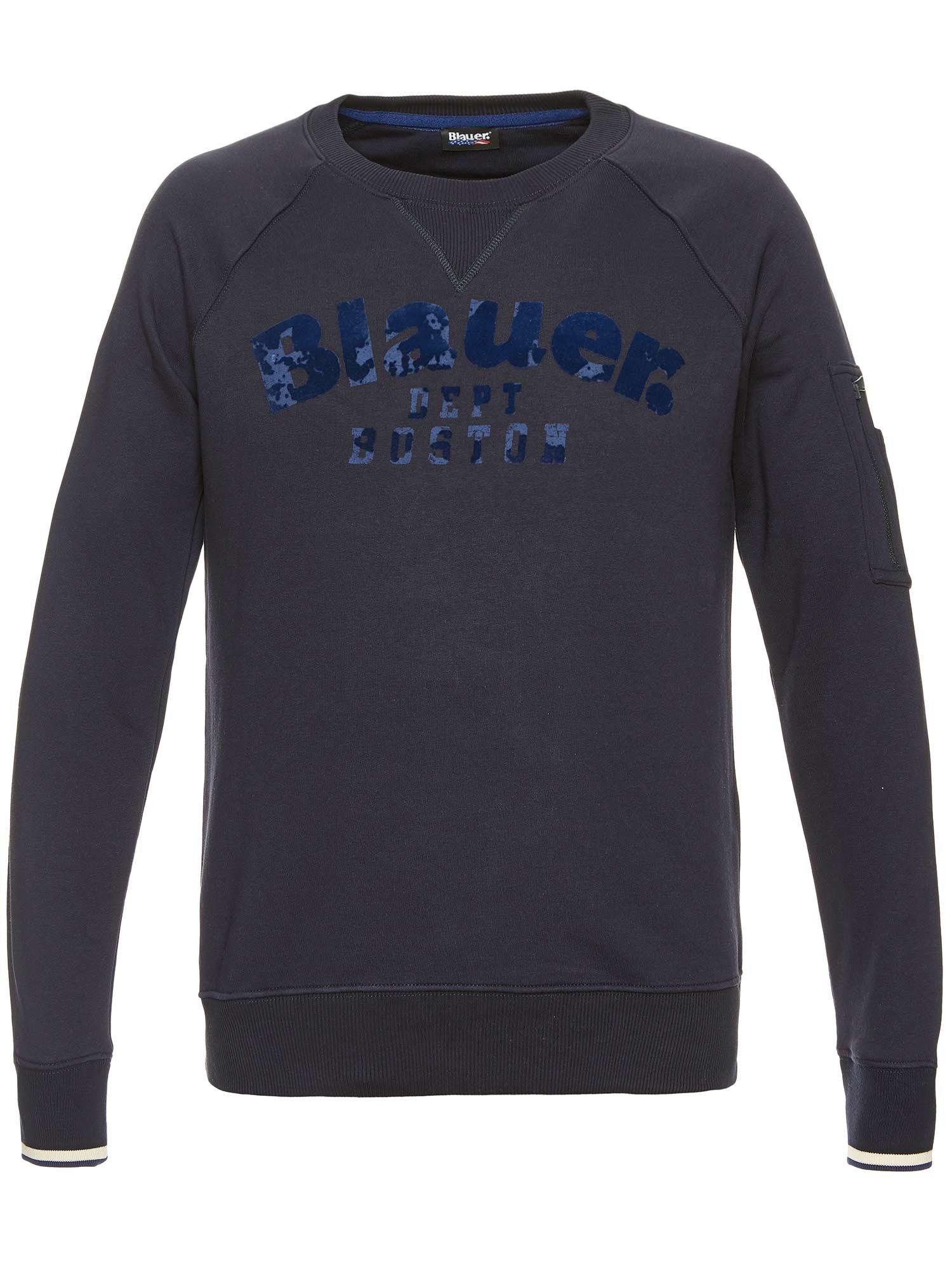 DEPT. BOSTON CREW NECK SWEATSHIRT - Blauer