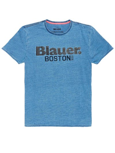 T-SHIRT JERSEY BLAUER BOSTON 1936
