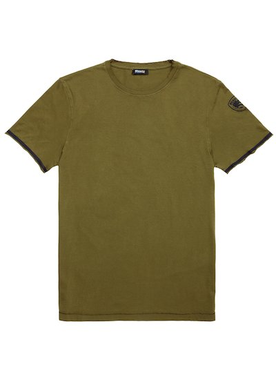 BICOLOUR EDGE T-SHIRT