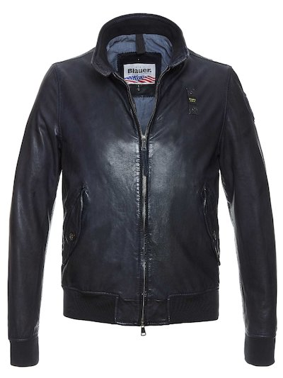 BOMBER RUGGED EN CUIR ADAM