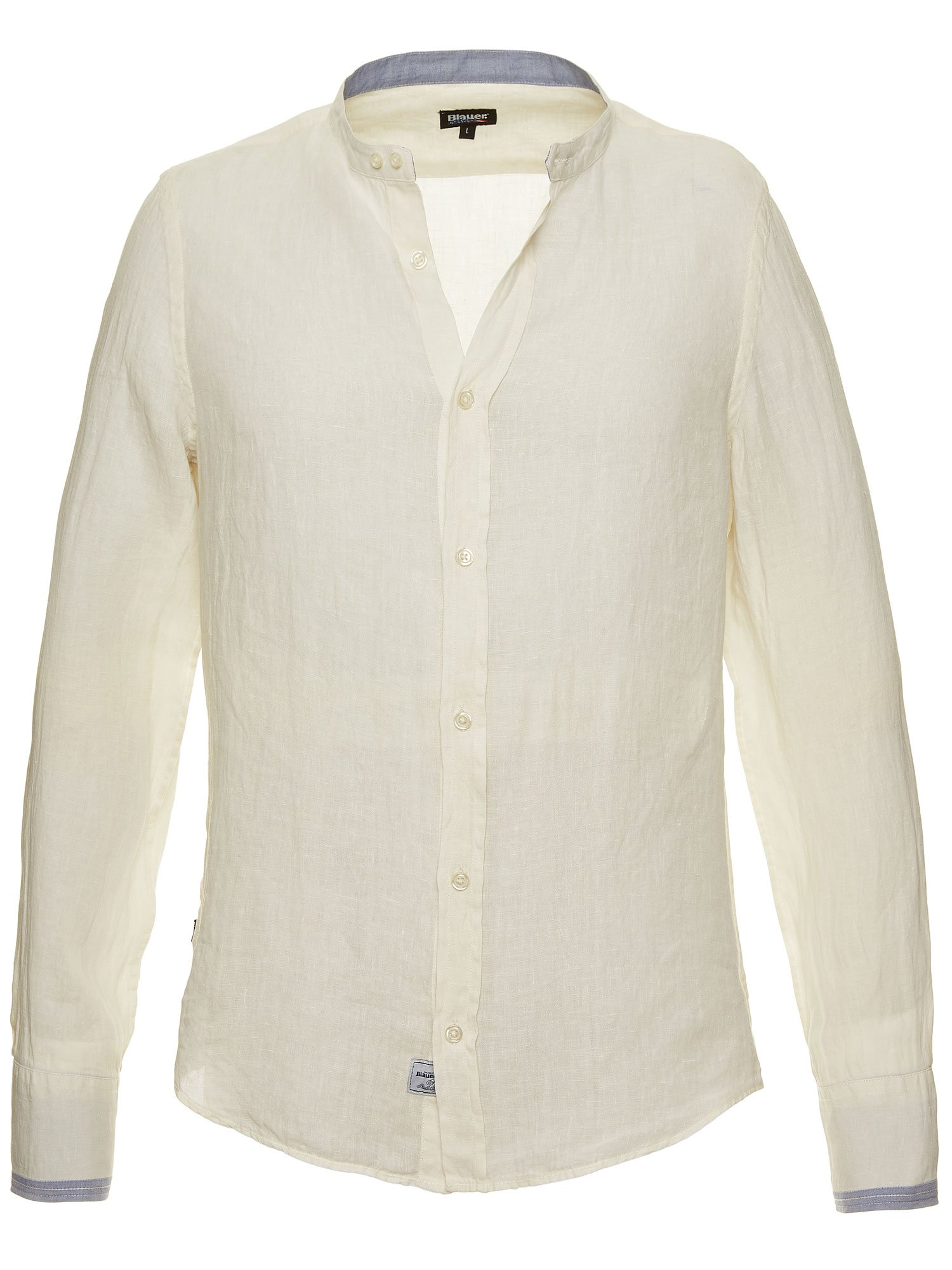 LINEN COTTON SHIRT - Blauer