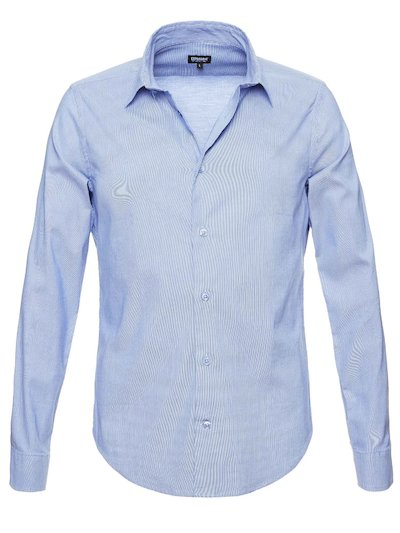 MICRO STRIPED POPLIN SHIRT