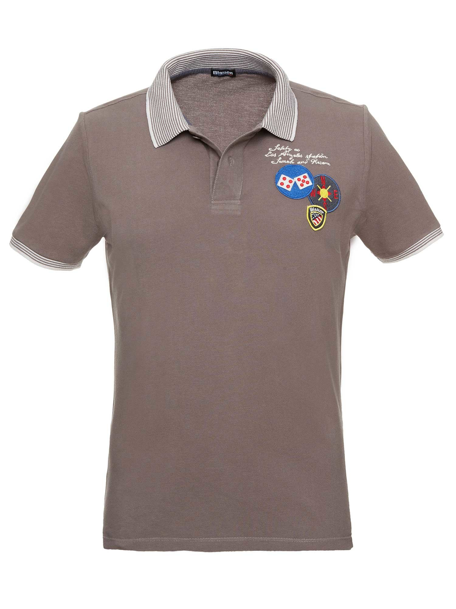 LOS ANGELES SAFETY POLO - Blauer